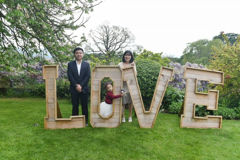 Andy & Hilary, Glenfall House, Outdoor Wedding